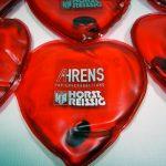 Handwärmer in Herzform als Werbeartikel