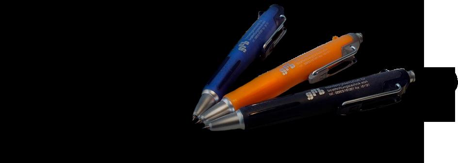 Tampondruck aus Kugelschreiber