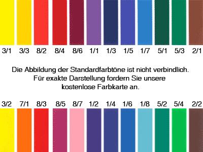 Farben gfb tampondruck for Farbkarten kostenlos