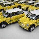 Modellautos als Werbeträger bedruckt im Tampondruckverfahren