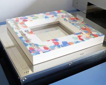 bilderrahmen mit konfettidekor im digitaldruck bedruckt. Black Bedroom Furniture Sets. Home Design Ideas