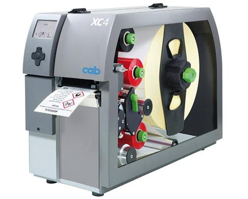 Thermotransferdrucker zum gleichzeitigen Bedrucken eines Etikettts mit 2 Farben