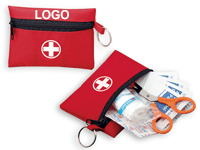 Erste-Hilfe-Set für die Reise bedruckt mit Logo