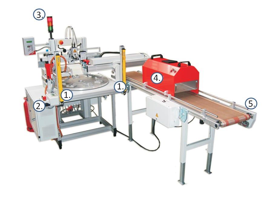 Siebdruckmaschine Alraun